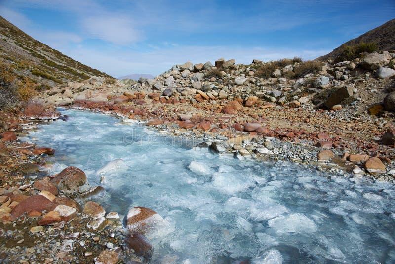 Glacial River royalty free stock photo