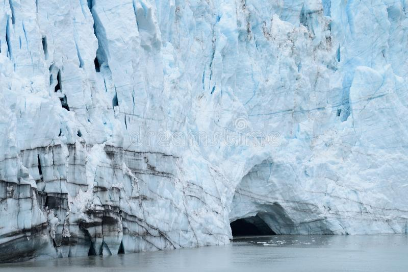 Glaciar - Alaska fotografía de archivo libre de regalías