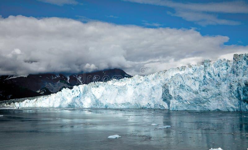 Glaciar Alaska los E.E.U.U. de Hubbard fotos de archivo libres de regalías