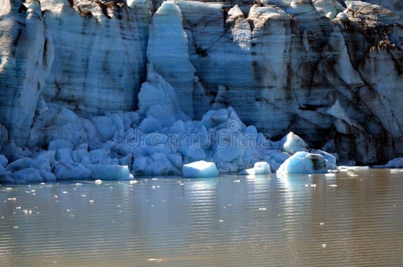 Glaciar de Alaska imágenes de archivo libres de regalías