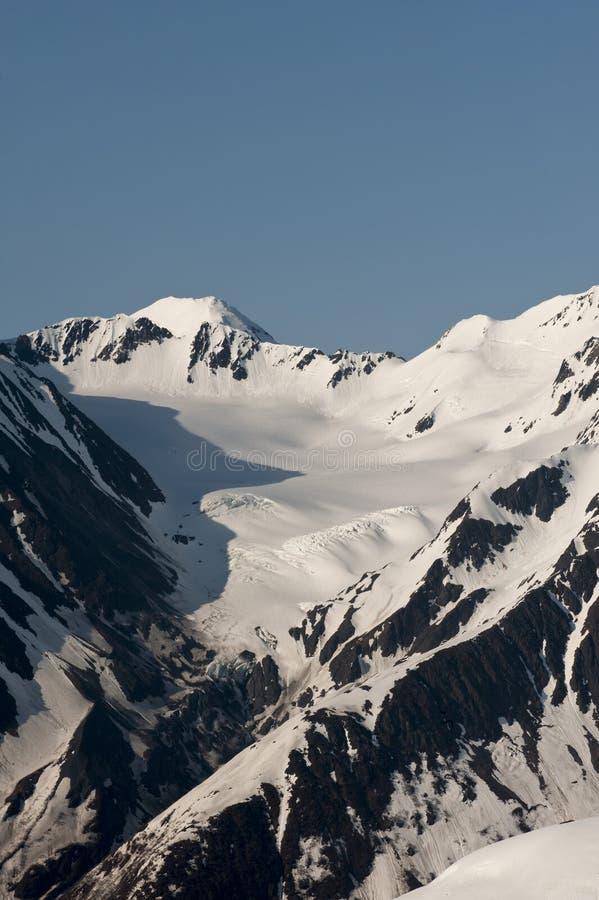 Glaciar de Alyeska imagen de archivo