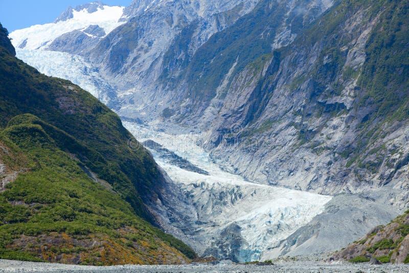Glaciar de Francisco José imagen de archivo libre de regalías