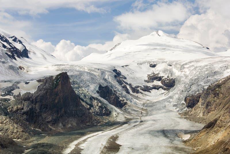 Glaciar de fusión fotografía de archivo libre de regalías