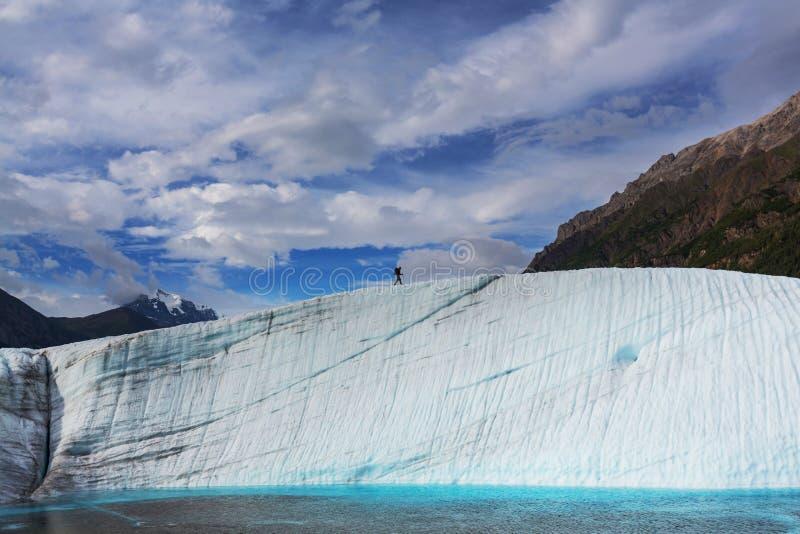 Glaciar de Kennicott foto de archivo