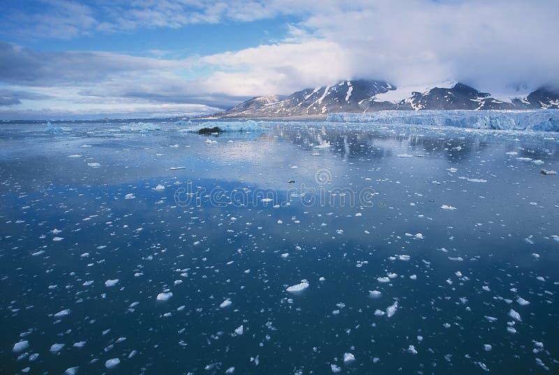Glaciar de Mónaco fotografía de archivo libre de regalías