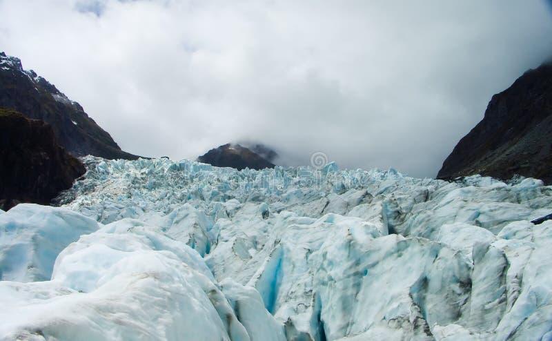 Glaciar de Nueva Zelandia imagen de archivo libre de regalías
