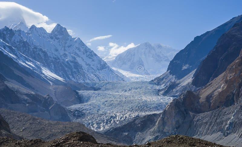 Glaciar de Passu fotografía de archivo libre de regalías