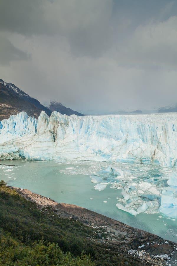 Glaciar de Perito Moreno imágenes de archivo libres de regalías