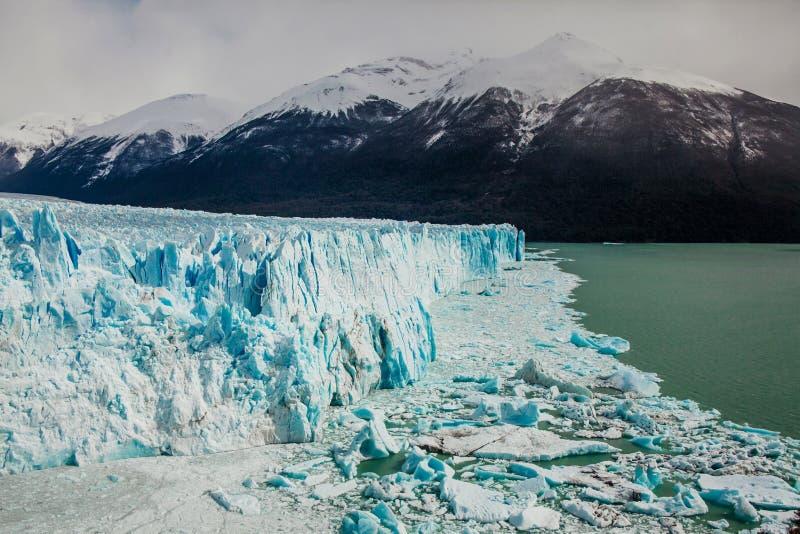 Glaciar de Perito Moreno, EL Calafate la Argentina, Patagonia del La fotos de archivo