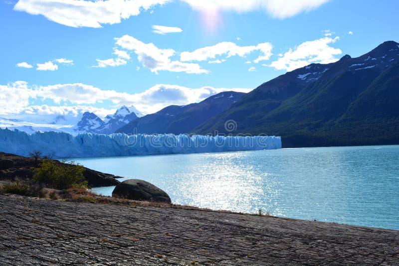 Glaciar de Perito Moreno en el EL Calafate, la Argentina fotos de archivo libres de regalías