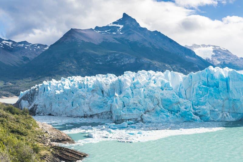 Glaciar de Perito Moreno en la Argentina imagen de archivo libre de regalías