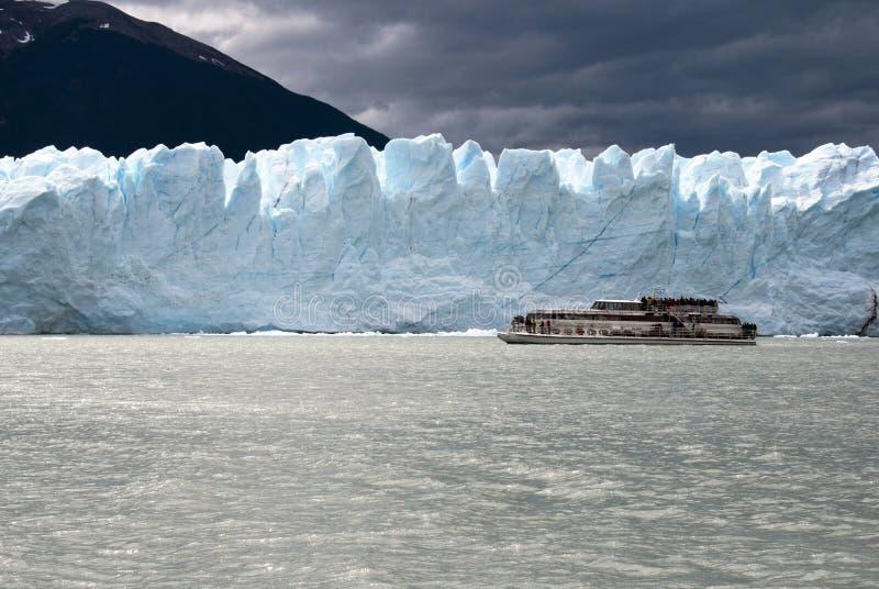 Glaciar de Perito Moreno - la Argentina fotos de archivo