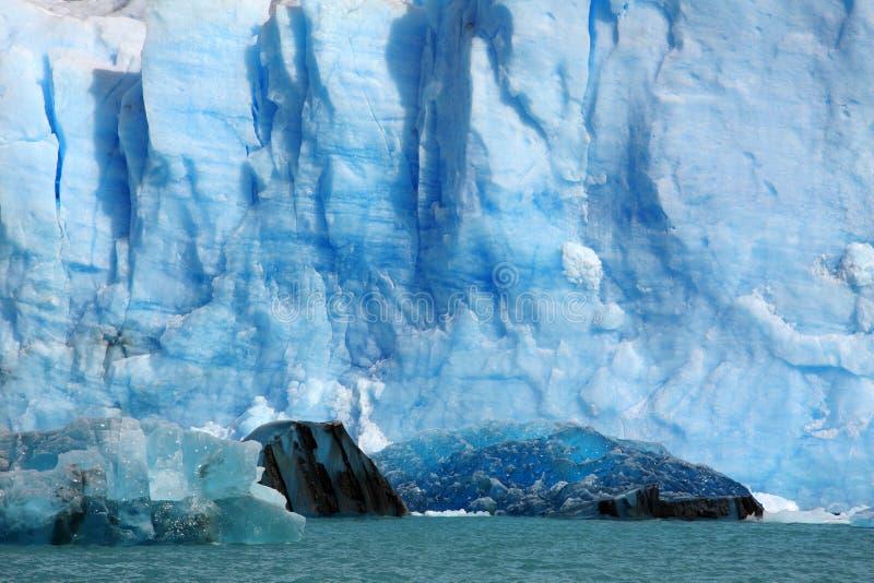 Glaciar de Perito Moreno, la Argentina imagen de archivo
