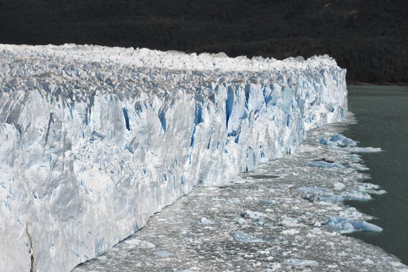 Glaciar de Perito Moreno, Patagonia, la Argentina imágenes de archivo libres de regalías