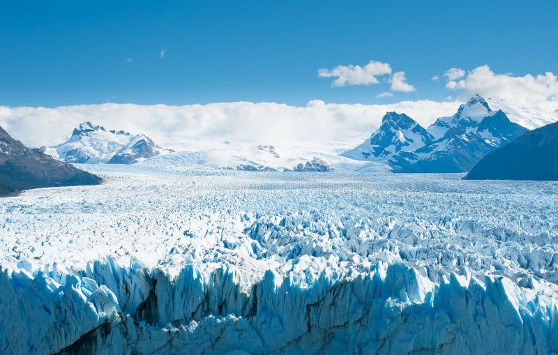 Glaciar de Perito Moreno, Patagonia, la Argentina fotografía de archivo libre de regalías