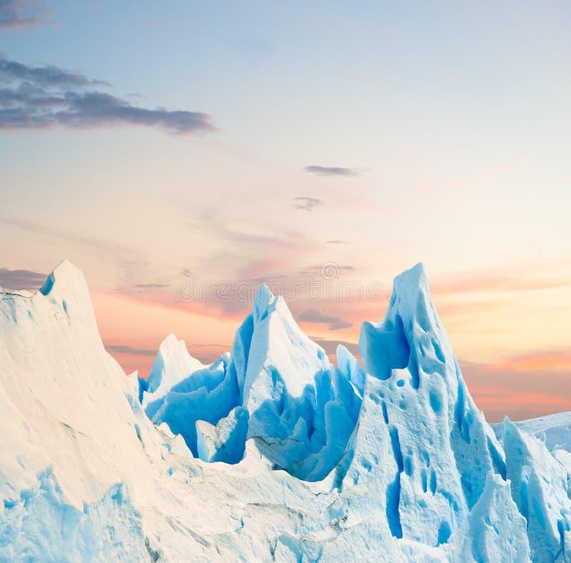 Glaciar de Perito Moreno, Patagonia la Argentina fotos de archivo libres de regalías
