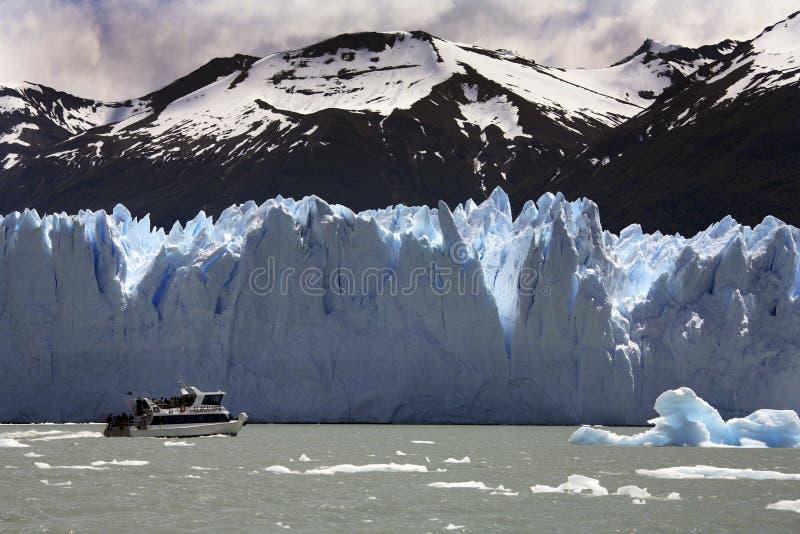 Glaciar de San Moreno - Patagonia - la Argentina fotografía de archivo