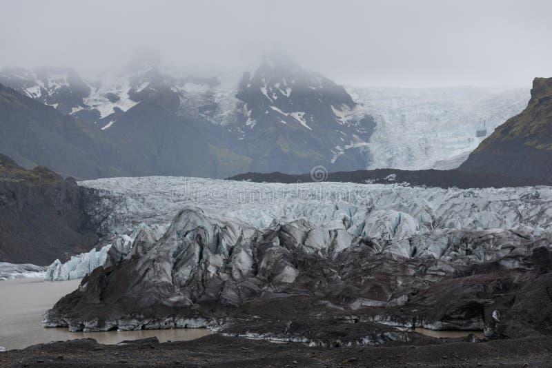 Glaciar de Skaftafell, parque nacional de Vatnajokull fotos de archivo libres de regalías