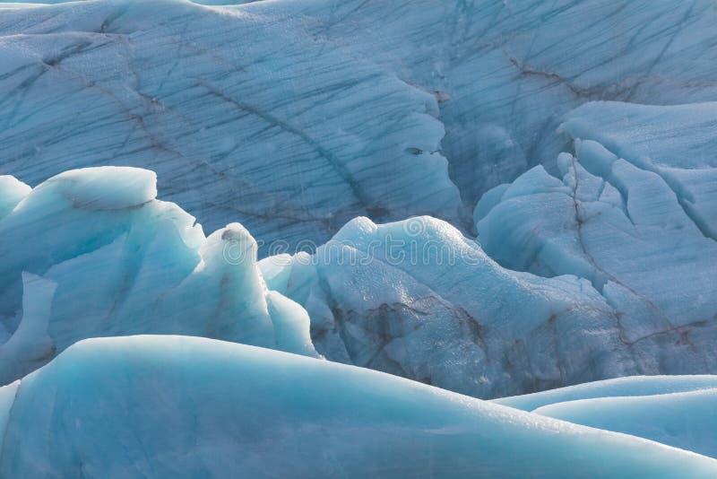 Glaciar de Skaftafell, parque nacional de Vatnajokull en Islandia imagen de archivo libre de regalías