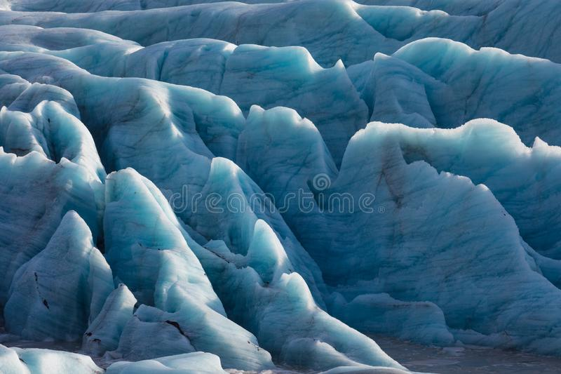 Glaciar de Skaftafell, parque nacional de Vatnajokull en Islandia imágenes de archivo libres de regalías