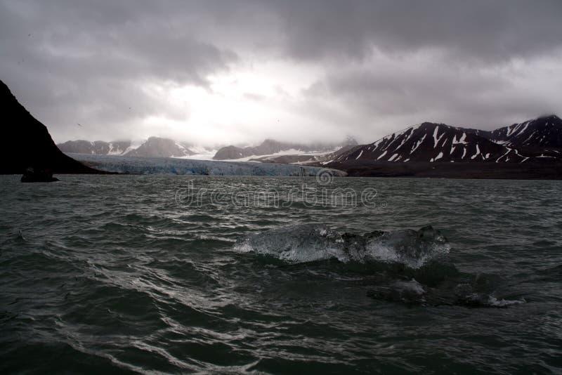 Glaciar del 18 de julio fotografía de archivo libre de regalías