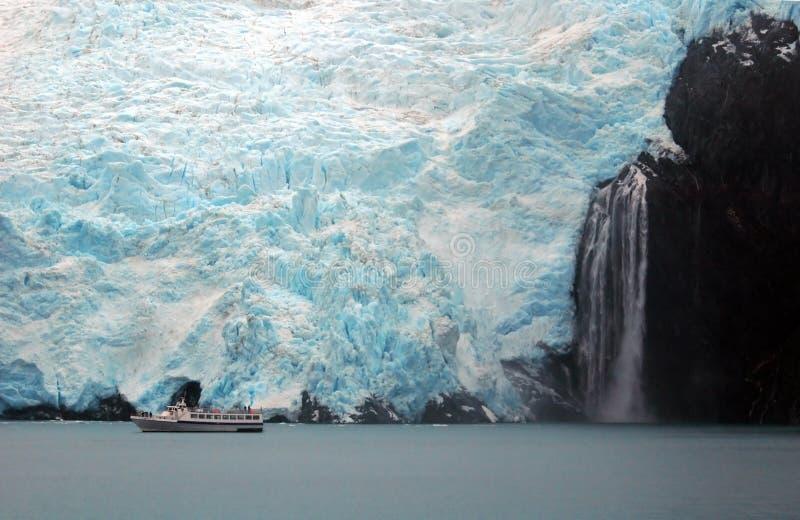 Glaciar en Alaska imágenes de archivo libres de regalías