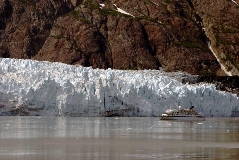 Glaciar en Alaska foto de archivo