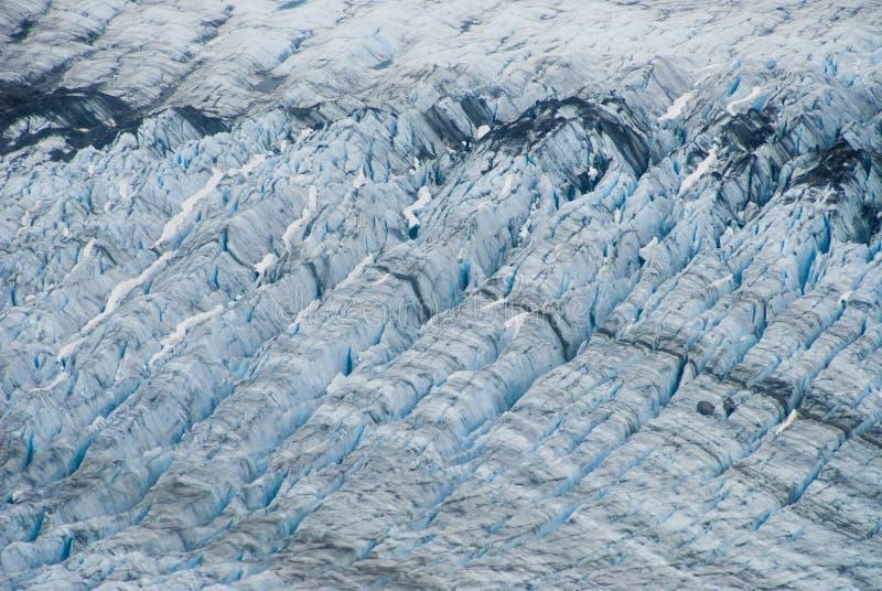 Glaciar en Skagway Alaska foto de archivo