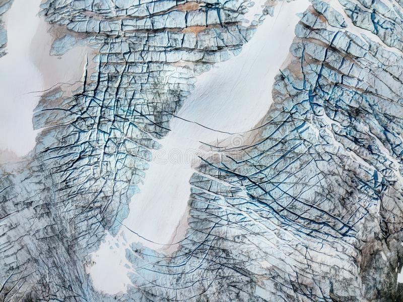 Glaciar Noruega del parque nacional de Jotunheimen imagenes de archivo