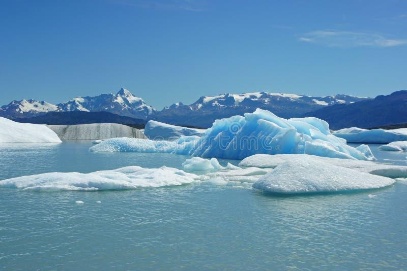 Glaciar Parc nacional, Patagonia, la Argentina fotos de archivo