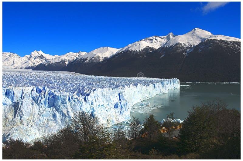 glaciar perito moreno стоковое изображение