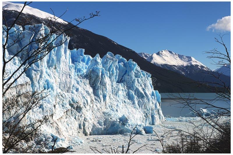 Glaciar Perito Moreno - Calafate - la Argentina imágenes de archivo libres de regalías