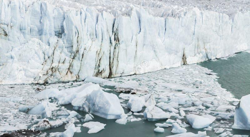 Glaciar Perito Moreno, parque nacional Los Glasyares, Patagonia, A foto de archivo