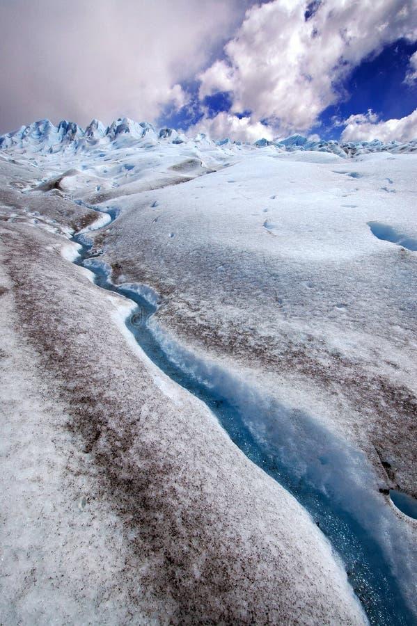 Glaciar Perito Moreno, Patagonia (la Argentina) fotografía de archivo