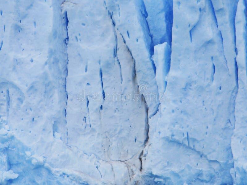 Glaciar Perito Moreno Serac Detail, Santa Cruz Argentina arkivbilder