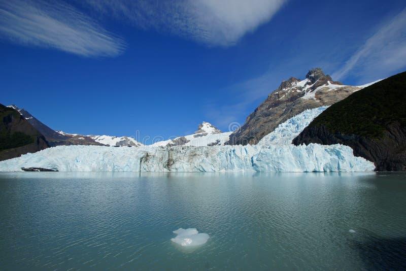 Glaciar Spegazzini, Patagonia, la Argentina fotografía de archivo