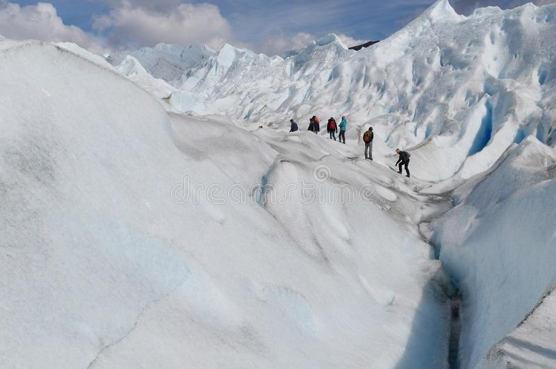 Glaciar ushuaia arkivbilder