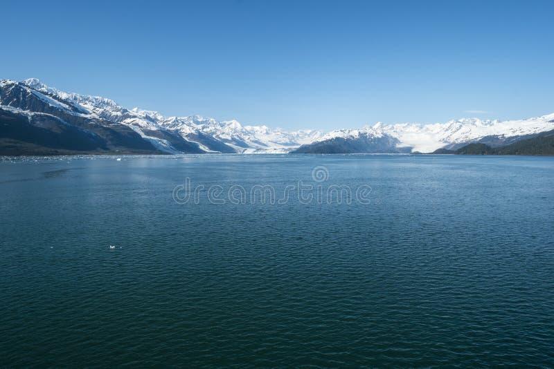 Glaciares Alaska #2 del fiordo de la universidad imágenes de archivo libres de regalías