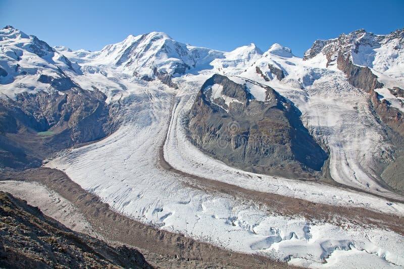 Glaciares de fusión foto de archivo