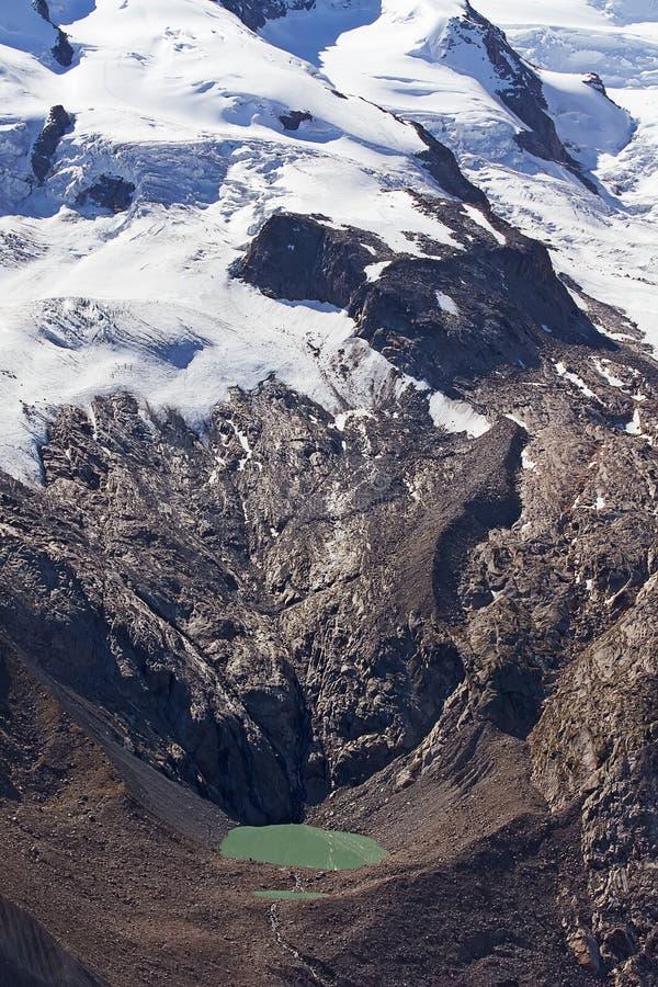 Glaciares de fusión fotografía de archivo libre de regalías