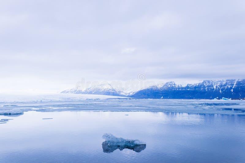 Glaciares de fusión foto de archivo libre de regalías