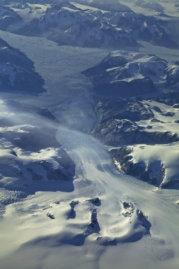 Glaciares de Groenlandia imagen de archivo
