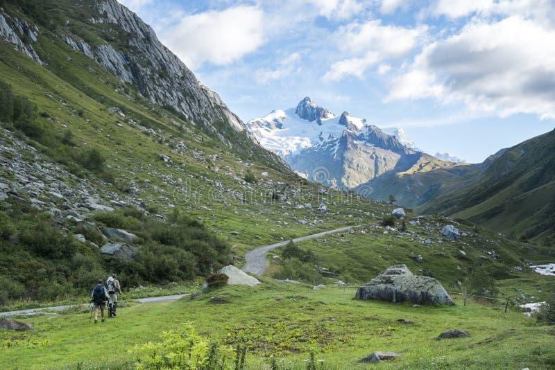 Glaciares del DES de Ville imágenes de archivo libres de regalías