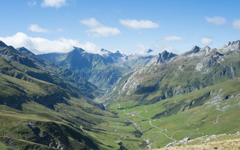 Glaciares del DES de Ville fotos de archivo libres de regalías