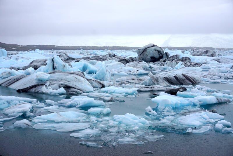 Glaciares del hielo fotografía de archivo