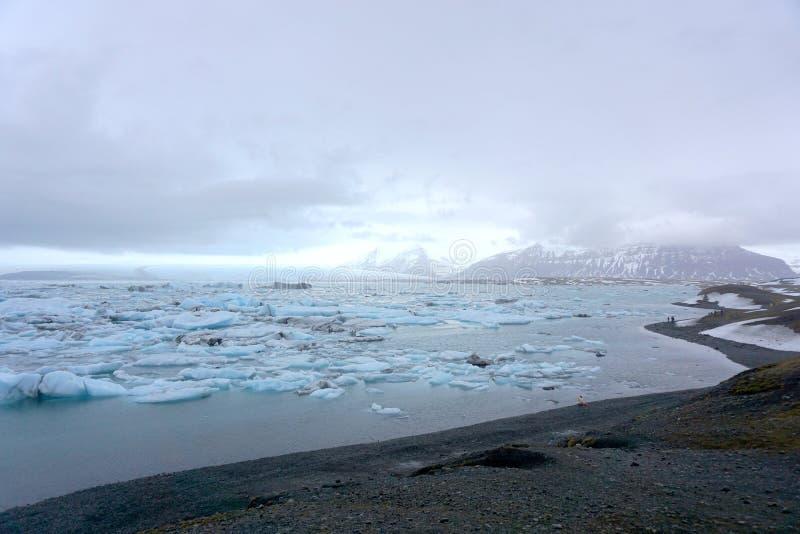 Glaciares del hielo foto de archivo
