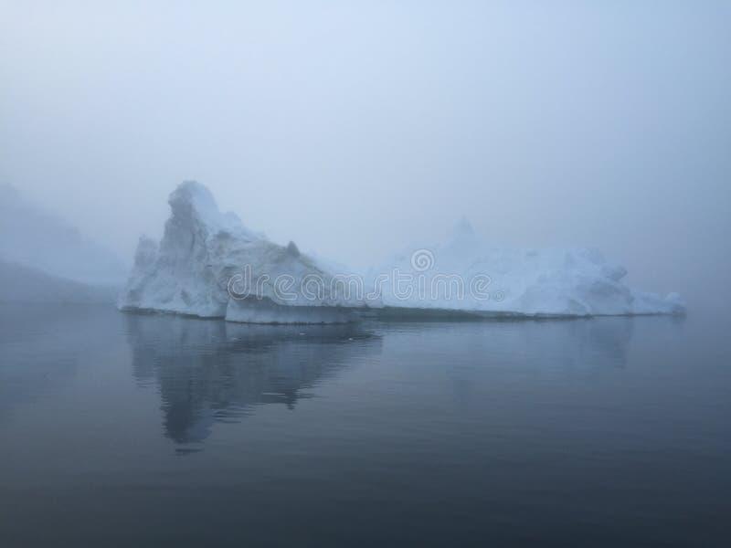 Glaciares en Groenlandia en el Polo Norte imagenes de archivo
