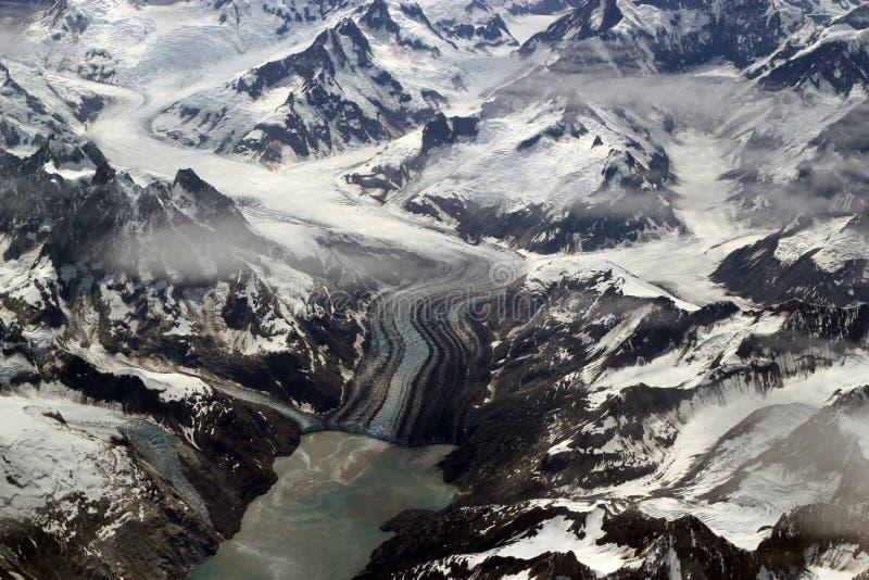 Glaciares, montañas e hielo imágenes de archivo libres de regalías