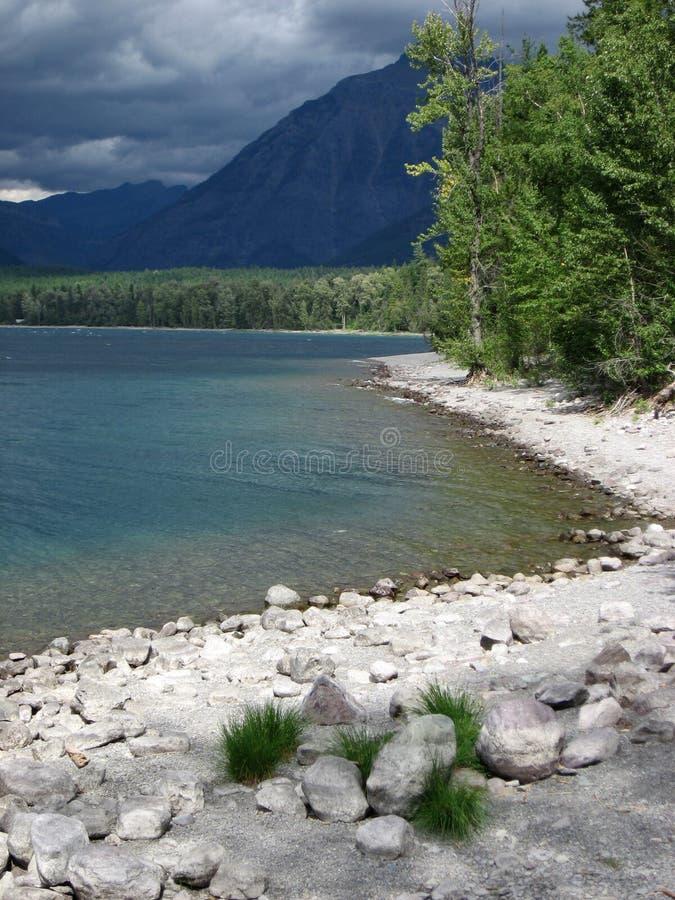glacie蒙大拿北无格式 库存图片