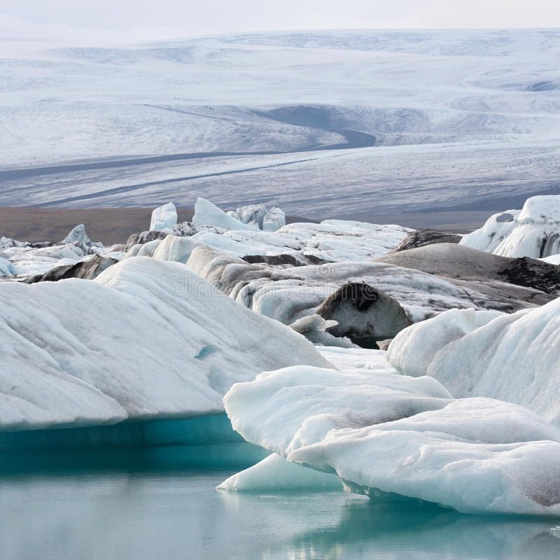 Glacier royalty free stock photos